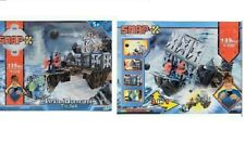 NEW Pirate Toys 2 SnapX sets- The Dock Fortress & Pirate Ship Build & Play Set
