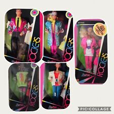 BARBIE and the ROCKER Full Serie NRFB 1985
