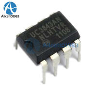10PCS UC3843AN UC3843 ON 3843 DIP-8 PWM Controller NEW IC