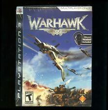 Warhawk multiplayer bluetooth headset bundle Playstation 3 PS3 Incognito sealed