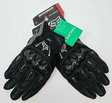 Foxhead Ballistic Knuckle Coverage Bomber Glove Men Size Small Black 03009-001-S