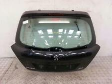 2007 Peugeot 207 3 Door Hatchback Tailgate BLACK