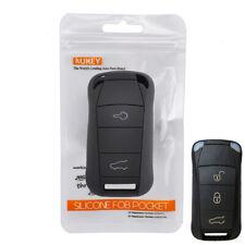 For Porsche Cayenne 2002 - 2008 Silicone Key Case Remote Fob Shell Cover 03 04