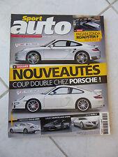 Sport Auto n°531 Porsche 911 Pagani Zonda F Alfa Brera 3.2 V6 Jaguar XK Bmw Z4 M