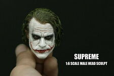 █ Custom Enterbay Joker 1/6 Head Sculpt for Hot Toys DX01 DX11 Body Supreme █