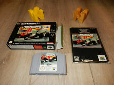 PAL N64: F-1 World Grand Prix 2 (II) Boxed Manual with Box Nintendo 64
