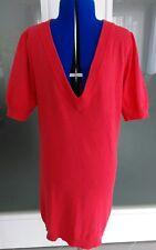 Kurzarm-Pullover, Farbe Koralle, Größe 38 von der Marke Laura Scott