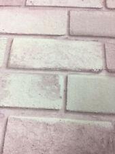 Pink Glitter Brick Wall Shimmer Wallpaper Slightly Imperfect