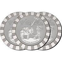 SilverTowne Stackables Trademark Prospector 5oz .999 Silver Medallion (3pc)
