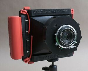 3d printed - WillTravel 4x5 camera for your focal lenght.