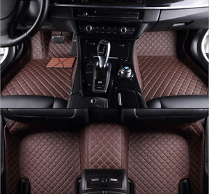 For Volvo V90 2017~2018 leather Car Floor Mats Non toxic and inodorous