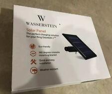 Wasserstein Solar Panel for Your Ring Doorbell 2