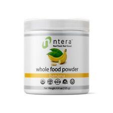 NTERA Banana Whole Food Powder USDA Organic, Gluten-Free, Non-GMO, Vegan, Kosher