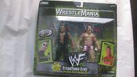 WWF WrestleMania 2000 TitanTron Live The Rock & Billy Gunn Tron Ready NEW t622