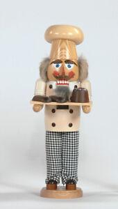 Nussknacker Bäcker 40 cm Erzgebirge Seiffen NEU Deko Weihnachten