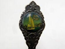 """Vintage Collector Spoon - San Diego California - 4.75"""""""
