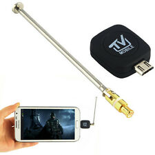 DVB-T Micro USB TV Tuner Dongle Adapter Mobile Phone TV Receiver Stick DVBT