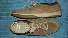 Clarks wave walk mens casual learger lace ups size 9.5