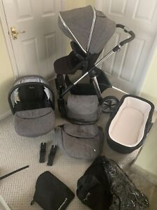 Silver Cross Brompton Pioneer travel system 3 In 1 - Special Edition