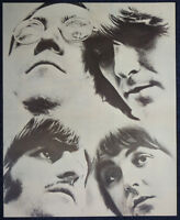 THE BEATLES POSTER PAGE 1968 WHITE ALBUM ERA . LENNON MCCARTNEY HARRISON . F9
