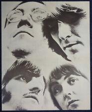 THE BEATLES POSTER PAGE 1968 WHITE ALBUM ERA . LENNON MCCARTNEY HARRISON . F9