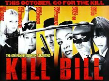 """KILL BILL"" Poster 2..Quentin Tarantino Classic Movie Poster A1 A2 A3 A4 Sizes"