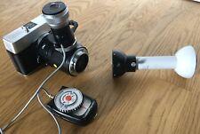 Zeiss Fototubus und C35 Kamera mit Aufbewahrungsbox