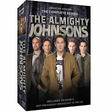 The Almighty Johnsons Season 3 2 1 Series  123 Complete Collection  R1 New DVD