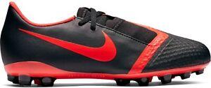Boys Kids Nike Phantom Venom Academy Red Black Football Boots UK Size 13.5K - 5