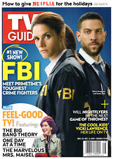 TV Guide Magazine November 26-December 9 2018 Missy Peregrym Zeeko Zaki FBI