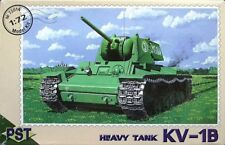 PST 72014 KV1B Soviet Heavy tank 1/72 scale model kit