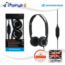 New Genuine Sennheiser PX200-II Foldable Closed Mini On-Ear Headphone (Black)