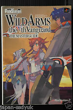 Wild ARMs 5 The Vth Vanguard Master Guide book OOP
