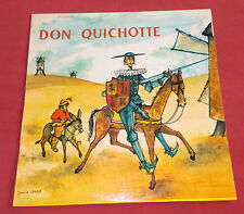 DON QUICHOTE LP ORIG FR MUSIDISC ART COVER DON QUICHOTE  CHABOT