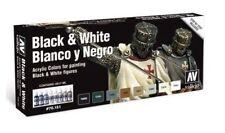 VAL70151 - Model Color Set - Black and White VALLEJO