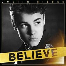 BELIEVE by JUSTIN BIEBER (CD, 2012 - USA - Decca Jam) 13 Songs, Good Condition!