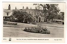 Killerton House - Broadclyst RP Postcard 1950 Exeter