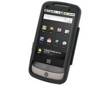 Black Hard Metal Aluminum Protector Case For Nexus One