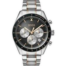 Hugo Boss HB1513634 Trophy Silver/Black Men's Stainless Steel Chronograph Watch