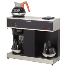 Bunn VPS 12-Cup Commercial Coffee Brewer with 3 Warmers - Black 04275.0031