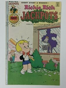 Richie Rich Jackpots #21 1976 Romance Harvey Comics Combined Shipping!