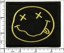 """20 Pcs Embroidered Iron on patches NIRVANA Music Band 3.44""""x2.88"""" AP056rC"""