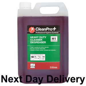 CleanPro+ Heavy Duty Cleaner Degreaser Concentrate 5 Litres H1