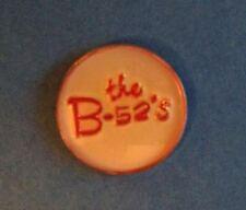 Rare Vintage 1980's The B-52's New Wave Punk Rock Hat Jacket Vest Lapel Pin