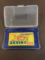 369 in 1 Game Boy Advance GBA With Case GET IT FAST ~ US SHIPPER