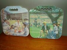 Lot of Two 1996 Wimbledon The Championships Seat Cushions Cool