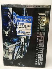 TRANSFORMERS REVENGE OF THE FALLEN 2-DISC SPECIAL EDITION DVD WALMART EXCLUSIVE