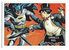 66 BATMAN TOPPS UMBRELLA DUEL BLACK BAT 1966 NO 23 NRMINT+ 5036