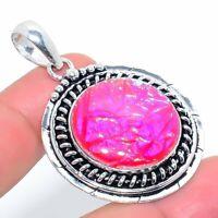 "Tripelet Opal Handmade Ethnic Style Jewelry Pendant 1.38"" KA-501"