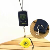 Portable Digital Luggage Scale LCD Display Travel Hook Hanging Weight 88lb/40kg